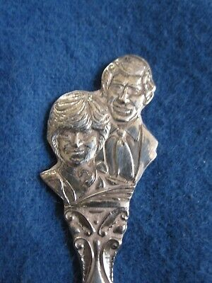 July 29 1981 Charles & Diana Marriage Royal Family Collectible Spoon