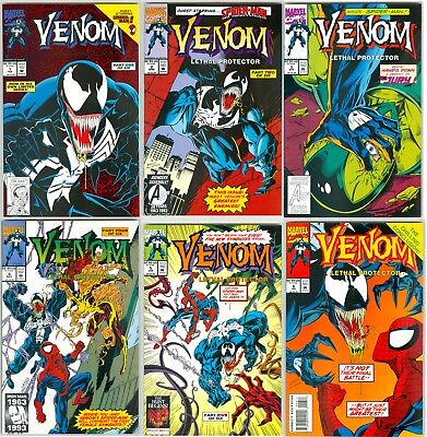 Venom Lethal Protector Set 1 2 3 4 5 6 NM- or better Movie Hot Free Ship!