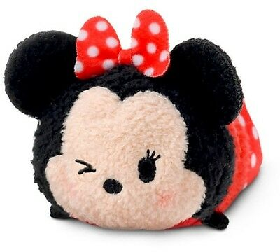 "Disney Stor Tsum Tsum 3.5"" Mini Minnie Mouse Wink Mickey & Friends Plush Nwt New"