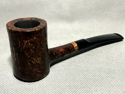 Road Town Poker Straight Style Briar wood craft pipe-unsmoked
