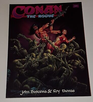 Conan the Rogue Marvel Graphic Novel 1991 by John Buscema  & Roy Thomas