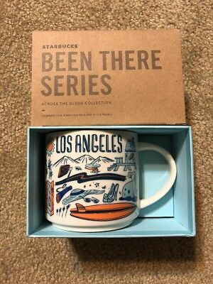"""Starbucks Los Angeles version 1 """"Been There Collection"""" Mug NWT"""
