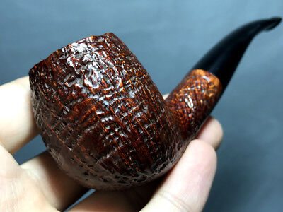 Road Town Brandy Style Briar wood craft pipe--- unsmoked