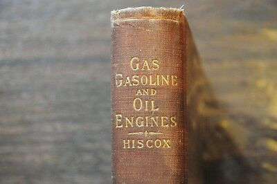 12th edition 1904 update 1897c Gas, Gasoline & Gas Vapor Engines Gardner Hiscox