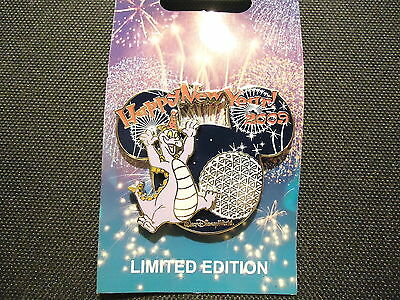 Disney Wdw Happy New Year 2009 Figment Pin Le 1500 On Card