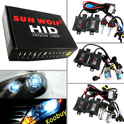 DC CANBus Headlight HID Kit 880 881 9004 9007 9006 H1 H4 H7 H11 H13 Xenon Lights