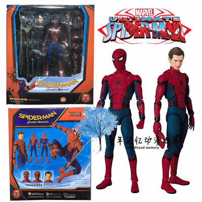 Spider-man Homecoming Mafex No.047 Spiderman Action Figure Collection Model Toy