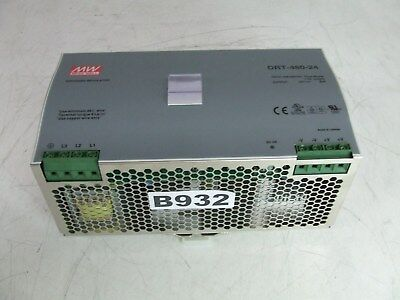 Mean Well DRT-480-24 AC to DC DIN-Rail Power Supply 24 Volt 20 Amp *New*