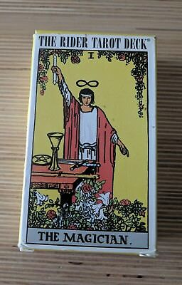 The Rider Tarot Deck Smithe Waite Centennial Edition 78pc US Game Systems 2009