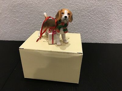 Beagle DNC Collections Porcelain Christmas Ornament