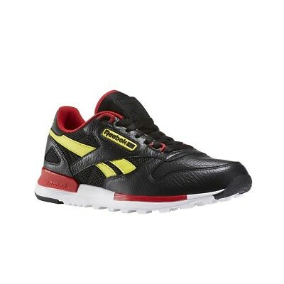 c36cac3950fe Reebok Classic Leather 2.0 (BLACK HYPERGREEN SCARLET ) Men s Shoes BS5102