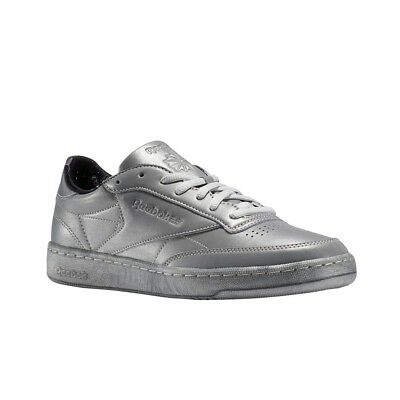 1fa6b735d4a1 REEBOK CLUB C 85 Tdg (SILVER MET SNOWYGREY) Men s Shoes BS6469 ...