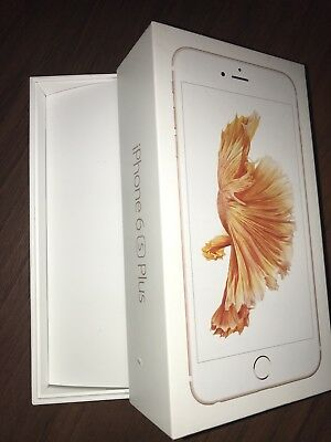 Genuine Apple iphone 6s plus 16GB ROSE GOLD Box With Tray No Accessorie No Phone