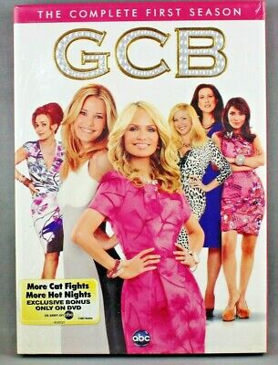 GCB : SEASON 1 (DVD, 2012, 2-Disc Set) REGION 1 NTSC - BRAND NEW/SEALED