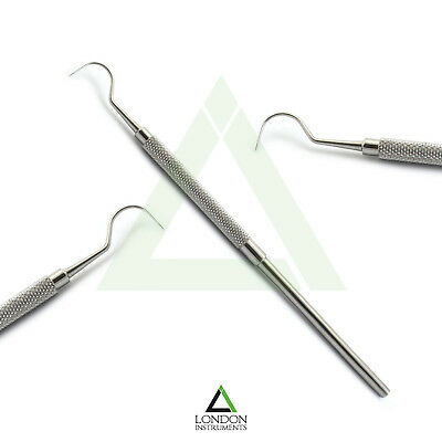 Dental Probe 23 Hook Shape Perio Calculus Tartar Remover Teeth Cleaning