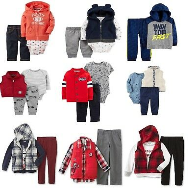 f05d51204 CARTERS BABY BOYS Clothes Cotton Outfit Clothing Set 3