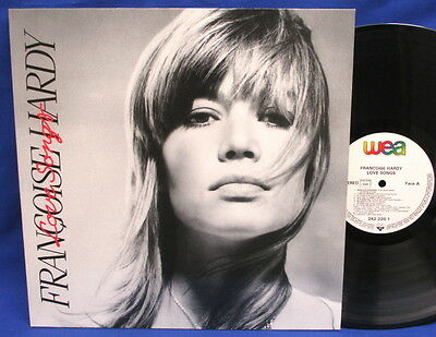 Lp Francoise Hardy - Love Songs // Rare German-France Pressing Wea