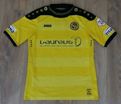 Young Boys Switzerland 2013 - 2014 #22 Veskovac match worn ? home shirt size M