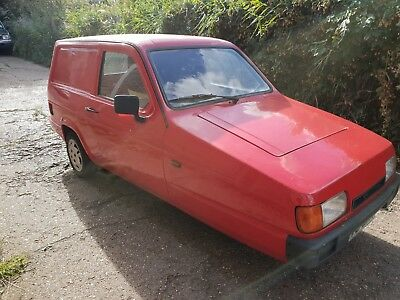 Reliant Super Robin Van 848Cc 1998 Red