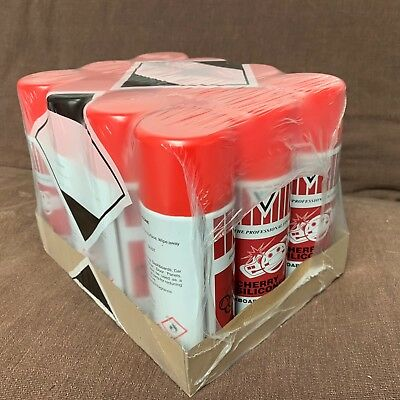 12 x Dashboard Silicone Spray Can | Cherry, Bubblegum | Dash Shine Renovator