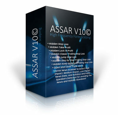 Assar V11 Forex High Frequency Scalping EA Expert Advisor - Unlimited Version
