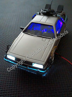 POLAR LIGHTS Back To The Future DeLorean Time Machine LED Fibre Optic Light Kit