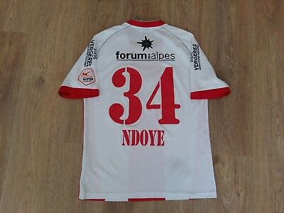 FC Sion Switzerland #34 Ndoye rare match worn shirt size XL