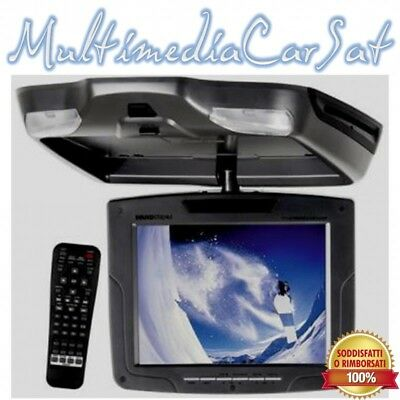 "Soundstream VCM-81D 8"" Overhead Monitor with DVD Player NERO"