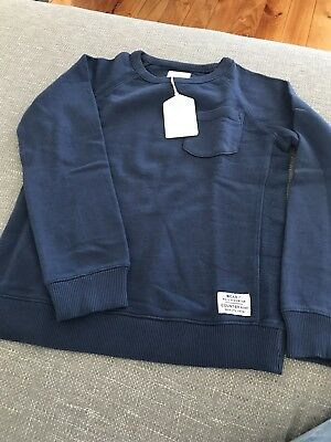 Country Road Boys Sweat Washed Blue Size 7