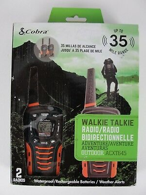 Cobra Acxt545 Walkie Talkie Altis Global Limited
