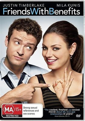 Friends With Benefits (DVD, 2011) very good condition