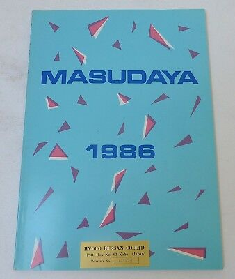 Masudaya Japan - Katalog 1986 Robots, Military, Transformers, LCD-Games.., 116S.