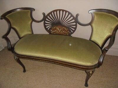 Antique love seat for 2.