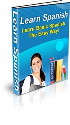 Learn Spanish PDF eBook + Master Resell Rights + 5 FREE eBooks