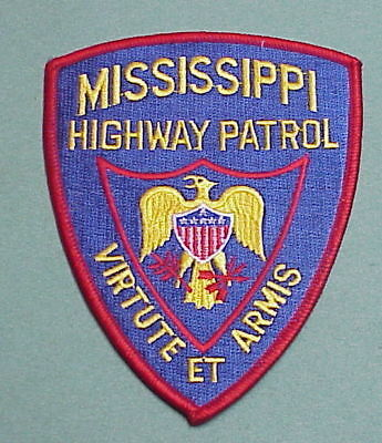 Mississippi  Highway Patrol   Police Patch   Free Shipping!!!
