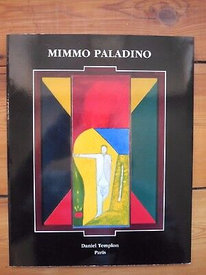 MIMMO PALADINO. en do re. catalogue. Galerie Daniel Templon, Paris. 1991