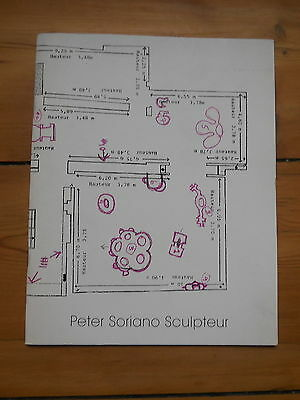 PETER SORIANO. sculpteur. catalogue d'exposition. Galerie Fournier, Paris. 1996