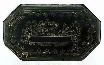 Antique Chinese/Thai Taiwanese Carved Lacquered Box