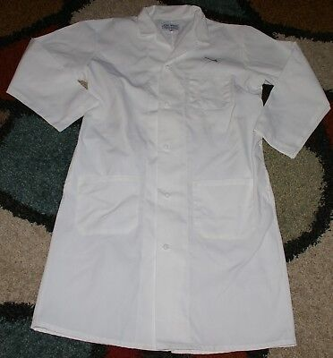 """Chef Jacket Coat French Knot Buttons 3 Pocket 42"""" Length L/XL (44)"""
