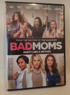 BAD MOMS, DVD, CASE, ARTWORK, o