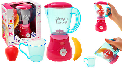 Girls Play At Home Electronic Blender Fruit Play Light & Sound Toy Xmas Gift New