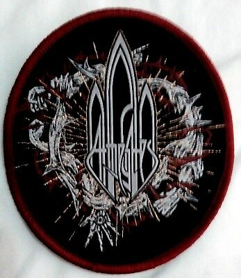 AT THE GATES woven patch Grotesque Disfear Skit System Unleashed Entombed new