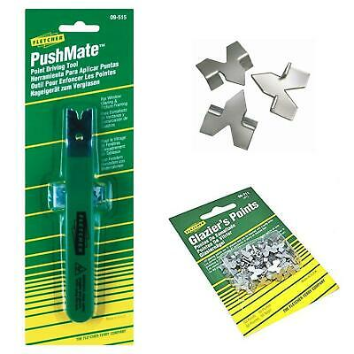 Fletcher PushMate Push Point Driving Tool & Points Picture Framing Glazing