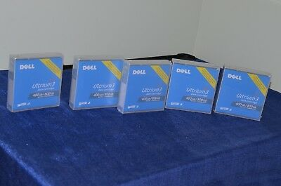 factory sealed new Dell LTO3 Ultrium3 Ultrium 3 data cartridge 400GB 800GB compr