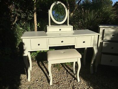 half off 6dc1a 9f601 LAURA ASHLEY ROSALIND Soft Ivory Dressing Table Set - Excellent condition