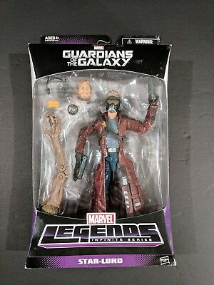 """Marvel Legends Infinite Series Guardians of the Galaxy Star-Lord 6"""" Figure BAF"""