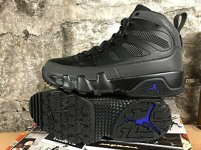 AIR JORDAN RETRO 9 Boot Black Concord NRG AR4491-001 MINT IN BOX 8 ... 0d44fa3fd