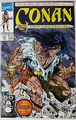 Conan the Barbarian #241 1991 TODD MCFARLANE VF