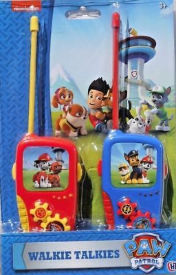 Nickelodeon Paw Patrol Walkie Talkie Toy For Kids New