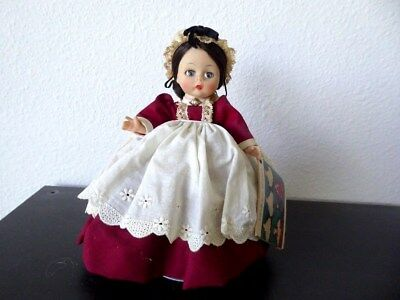 Vintage 1950's Madame Alexander Kins Wendy Face Little Women Marme Bentknee Doll
